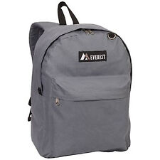 Everest Luggage Classic Backpack - Dark Gray