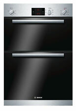 Bosch HBM13B251B Avantixx Brushed Steel, Built In Double Electric Cooking Oven
