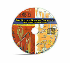 The Golden Book of Chemistry Experiments, Basic Fundamentals for Kids +++ CD C02