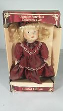 (#264)  GENUINE PORCELAIN COLLECTIBLE DOLL     LIMITED EDITION     GREENBRIER