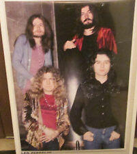 LED ZEPPELIN POSTER LIVE NEW NEVER OPENED MID 2000'S VINTAGE GROUP SHOT 70'S