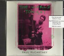 PAUL McCARTNEY The World Tonight rare promo CD single with PicCover  THE BEATLES