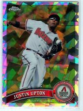 2011 Topps Chrome Atomic Refractor #/225 - JUSTIN UPTON [38] - AZ Diamondbacks