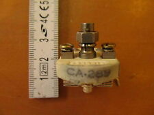 2 TO 28 pF CERAMIC VARIABLE CAPACITOR USED USA MADE MODEL CA289 WWII PART