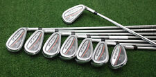 Cobra Golf King OS 2017 Oversize Irons 4-PW+GW True Temper XP 85 Steel Stiff NEW