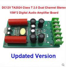 DC12V TA2024 Class T 2.0 Dual Channel Stereo 15W*2 Digital Audio Amplifier Board