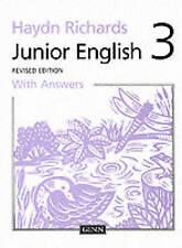 Junior Libro Inglés: libro 3 de la pupila con respuestas revisado nuevo libro en rústica 1997