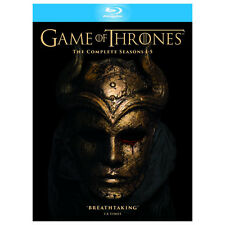 GAME OF THRONES THE COMPLETE SEASONS 1-5 BLU-RAY DISC REGION-FREE BRAND NEW