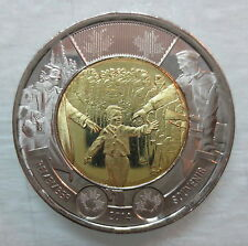 2014 CANADA 2 DOLLAR WAIT FOR ME DADDY TOONIE BRILLIANT UNCIRCULATED