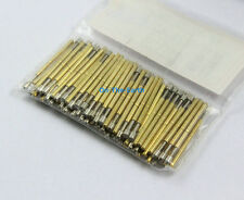 100 Pieces P75-A2 Dia 1.02mm Spring Test Probe Pogo Pin