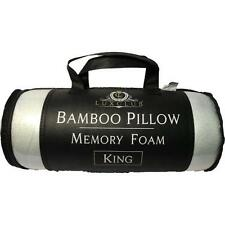 Hotel Quality Bamboo Pillow with Memory Foam - LuxClub Premium - King