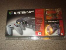 Nintendo 64 Charcoal Grey Console NEW Sealed w/ Pokemon Snap Controller Bundle