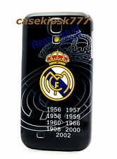 for Samsung galaxy S4 Real Madrid Club de Fútbol football case black /