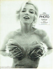 PUBLICITE ADVERTISING 016  1982  MARILYN MONROE