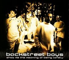 Backstreet Boys -  Show Me the Meaning of Being Lonely    CD  Single