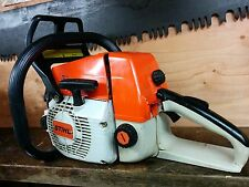 STIHL 034 CHAINSAW POWERHEAD WITH NEW 036 MOTOR CABER RINGS RUNS GREAT