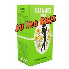 SLIMING GERMAN HERB DIET TEA WEIGHT LOSS THAI HERBAL SLIM DETOX 50 BAGS LAXATIVE