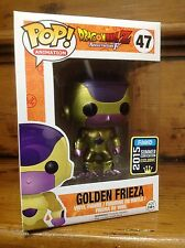 FUNKO POP! Dragonball Z Golden Frieza #47 SCE Exclusive Vinyl Figure & Case NEW