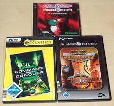 3 PC SPIELE SAMMLUNG COMMAND & CONQUER - ALARMSTUFE ROT 2 3 YURIS RACHE