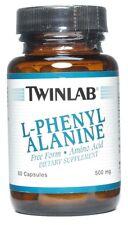 Twinlab L-Phenylalanine 500 mg - 60 Capsules
