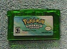 POKEMON EMERALD GAMEBOY ADVANCE REPRODUCTION WITH FREE SHIPPING