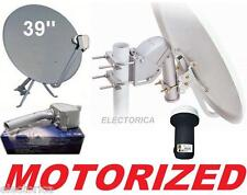 "39"" MOTORIZED ROTARY SATELLITE DISH + SG2100 MOTOR + FTA FREE TO AIR LNB 33 36"