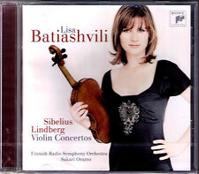 Lisa BATIASHVILI: SIBELIUS & Magnus LINDBERG Violin Concerto CD Sakari ORAMO Neu