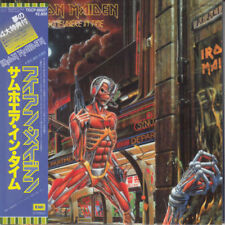 IRON MAIDEN SOMEWHERE IN TIME CD MINI LP OBI (JAPANESE BOOKLETS)