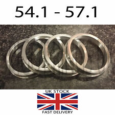 54.1 - 57.1 TOYOTA CELICA SUPRA VW GOLF SPIGOT RINGS METAL FORGED ALUMINIUM