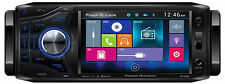 "POWER ACOUSTIK PD-454B SINGLE 1 DIN CAR DVD/CD/MP3 PLAYER 4.5"" MONITOR BLUETOOTH"