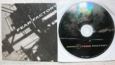Fear FACTORY-concrete Advanced PROMO CD Roadrunner RR PROMO 647