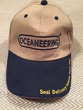 OCEANEERING SEAL DELIVERY VEHICLE TEAM ONE USS MICHIGAN  STRAPBACK CAP HAT NEW