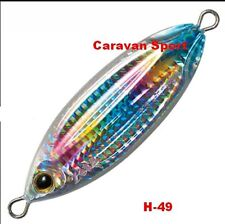 ARTIFICIALE SLOW BLATT CAST OVAL COL H-49 ZETZ 30 GR LURE JIG SEÑUELO VERTICAL