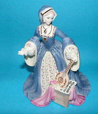 WEDGEWOOD Figurine Royal King Henry's 'Jane Seymour' LE 1st Quality