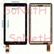 "Vetro Touch screen Digitizer 7,0"" ONDA V701 V701S Nero"