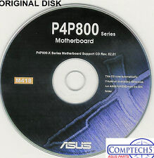 ASUS GENUINE VINTAGE ORIGINAL DISK FOR P4P800-X P4P800 Motherboard Disk M418