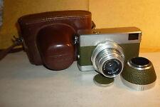 Kamera Werra 1.Modell geriffelter Drehring mit Zeiss Q1 Tessar 2,8/50 + Tasche !