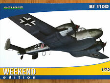 Eduard Weekend Edition 1:72 Messerschmitt Bf 110D German Aircraft Model Kit