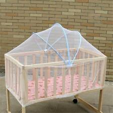 Summer White Baby Cradle Bed Canopy Mosquito Net Toddlers Crib Cot Netting Safe