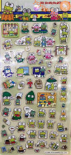2016 Sanrio Keroppi Golden Border stickers Sheet Sticker