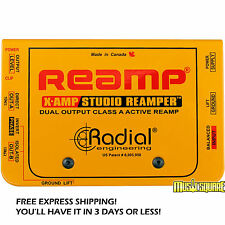 Radial X-Amp Active Guitar Reamplifier XAMP Reamper X Amp MAKE OFFER! BRAND NEW!
