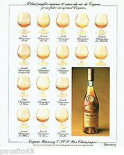 PUBLICITE ADVERTISING 036  1977  Hennessy  cognac fine champagne