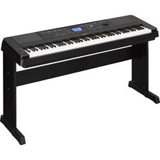 Yamaha DGX-660 88-Key Weighted USB Grand Digital Piano Keyboard Black + Stand