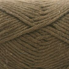 Rico Creative Cotton Aran  - 100% Cotton Knitting & Crochet Yarn - Brown 58
