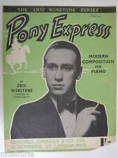 jazz piano ERIC WINSTONE pony express , 1943
