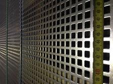 Lochblech Stahl verzinkt  - Qg 10-15 1000x50x2,0 mm Neuware