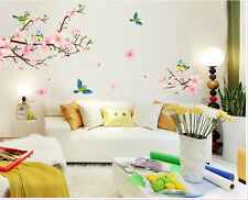 Flowers Birds Trees Removable Beautiful  Vinyl Decor Art Wall Stickers Room