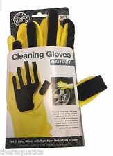 Heavy Duty Abrasive Scourer Cleaning Gloves Rust Dishes Tires Outdoor or Indoor