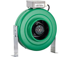 Active Air 8 inch In-Line Fan 720 CFM Blower Inline Ventilation Hydrofarm 8""
