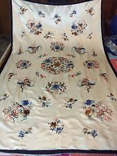 Antique Chinese Unstitch Robe Embroidered Silk Mint Condition